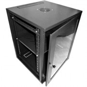 18U 600X600mm Wall Mount Dual Section Cabinet