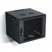 9U 600X600mm Wall Mount Dual Section Cabinet