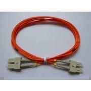 SC to SC SM 9/125um OS2 G655 2mm Duplex Fiber Optic Patch Cord 3Mtr Optictronic